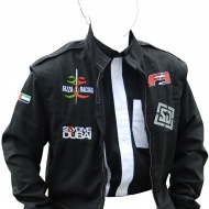Racing suit style jacket