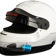 Porsche Motorsport IVOS-Air Force helmet with FIA 8860-2010 standard